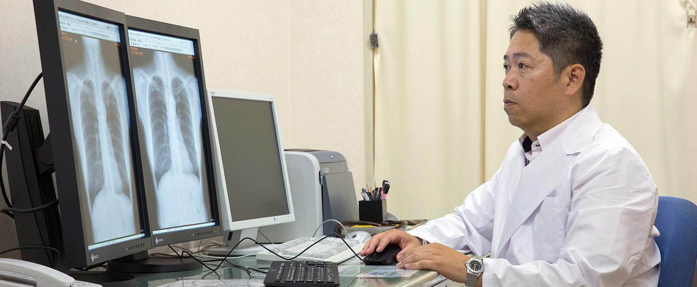京浜保健衛生協会の診察室