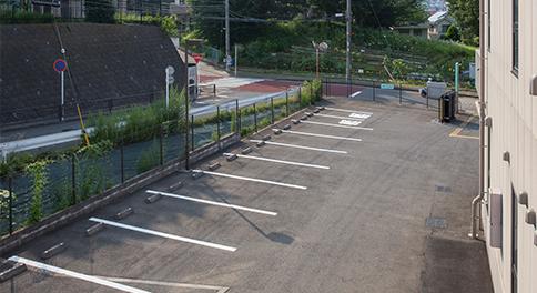 駐車場位置(建物俯瞰)
